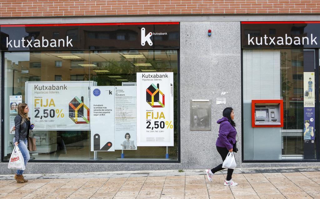 Sucursal de Kutxabank en Madrid.