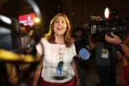 Susana Díaz, en una imagen tomada de durante el Congreso del PSOE celebrado en Madrid el pasado fin de semana.