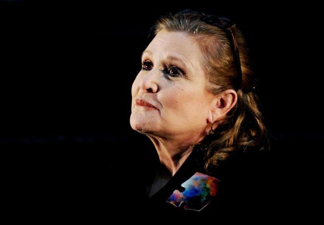 Carrie Fisher, en el Supanova Pop Culture Expo de Sidney (Australia) en 2013.