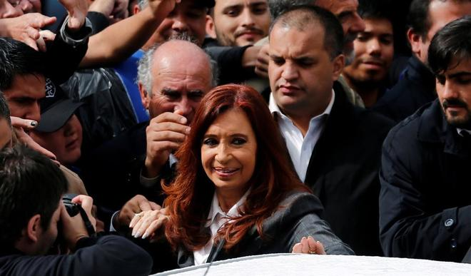 La ex presidenta argentina,  Cristina Fernández de Kirchner.