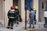 Explosión en la sede del PP de Ordes (A Coruña), en 2011, en un...