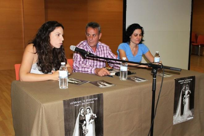 La concejala María Romero junto al protagonista del documental, Antoni Ruiz