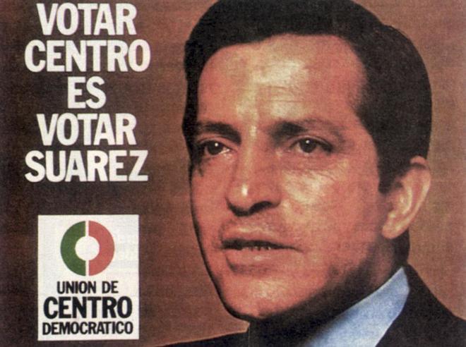 Cartel electoral de UCD en las elecciones de 1977.