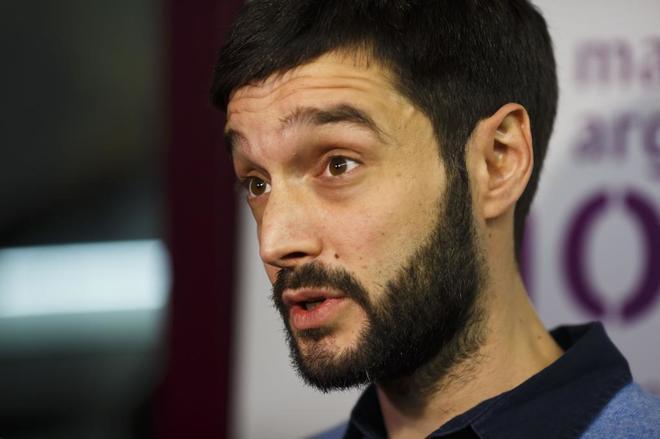Pablo Bustinduy, secretario de Internacional de Podemos.