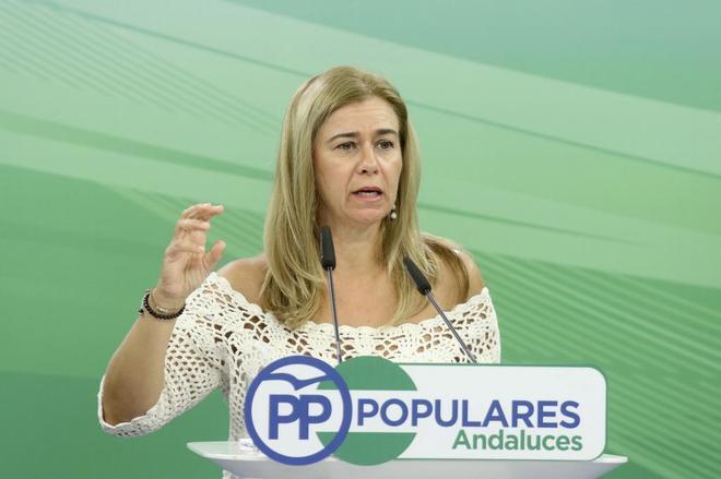 La diputada del PP andaluz Teresa Ruiz Sillero.