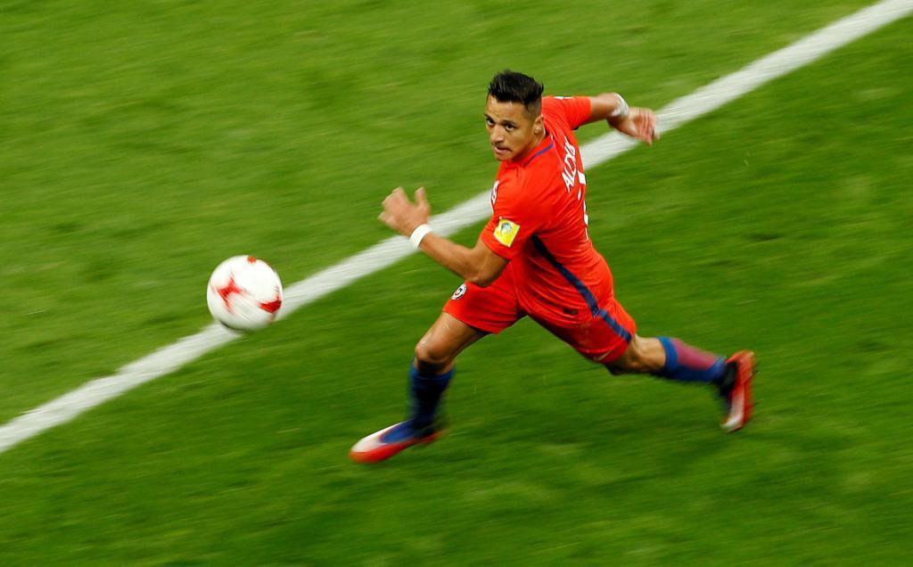 Un Alexis de récord no es suficiente ante Alemania