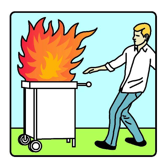 Fuego en casa el peligro est en la campana de la cocina zen el mundo - Cocina de fuego ...