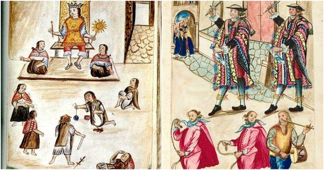 Acuarelas del 'Codex Trujillo del Perú' que el obispo Martínez Compañón mandó pintar en 1782 tras su llegada aquel país. Forman parte del lote 496, que fue subastado el pasado día 7 de junio.