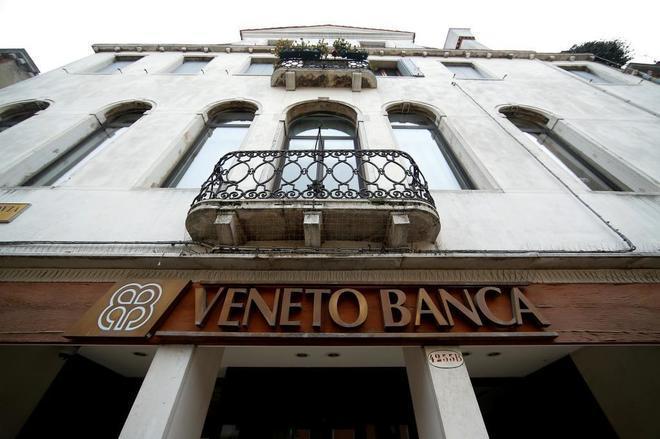 Sede del Veneto Banca en Venecia.