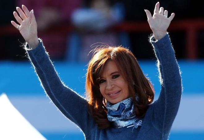 La ex mandataria Cristina Fernández de Kirchner.