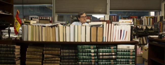 El director del diario 'La Razón', en su despacho.