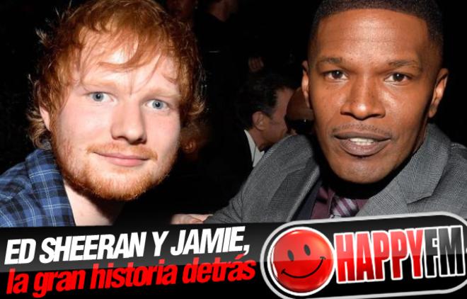 Ed Sheeran Durmió En El Sofá De Jamie Foxx Un Mes Antes De