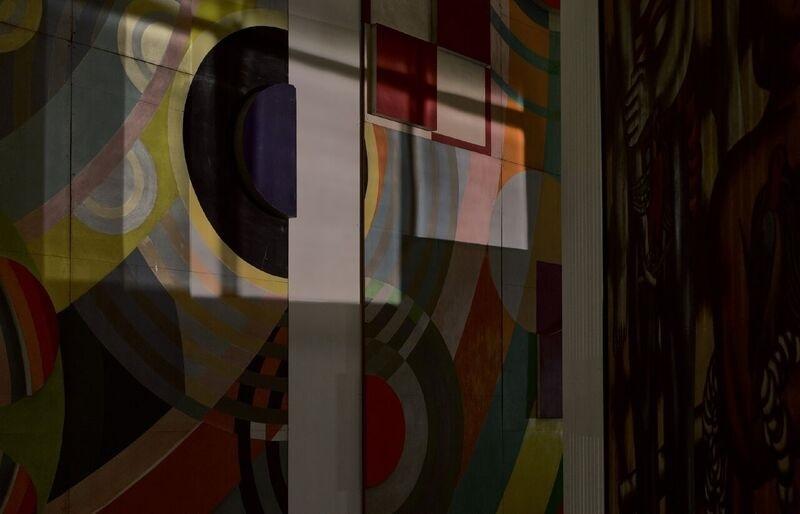 Centro Pompidou de Metz. Hall de entrada del Palacio de la red de...