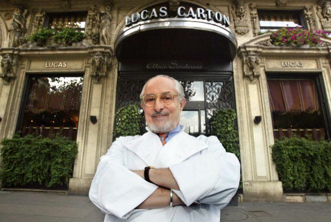 Muere el chef francés Alain Senderens, que renunció a tres estrellas Michelín
