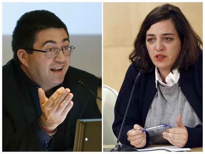 Los ediles Carlos Sánchez Mato y Celia Mayer.