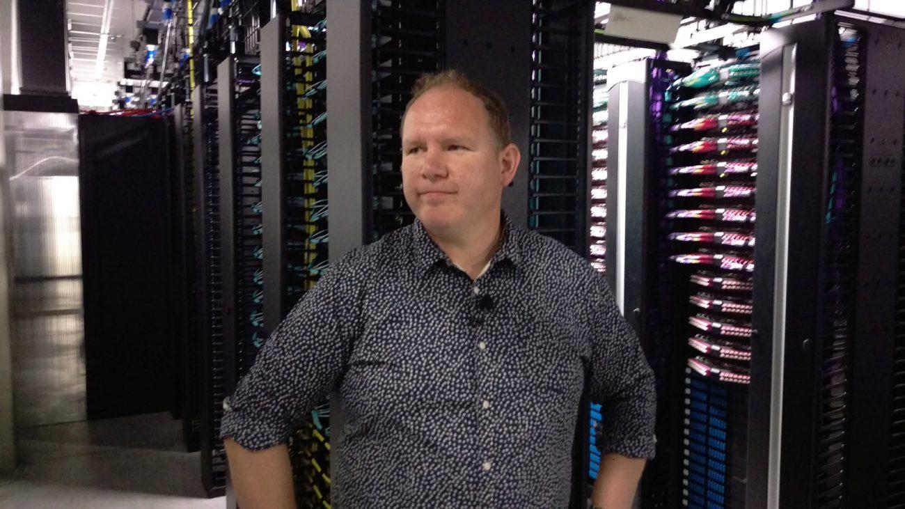 Niall McEntegart, responsable de operaciones para centros en EMEA de...