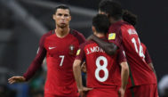 Cristiano, durante la tanda de penaltis ante Chile.