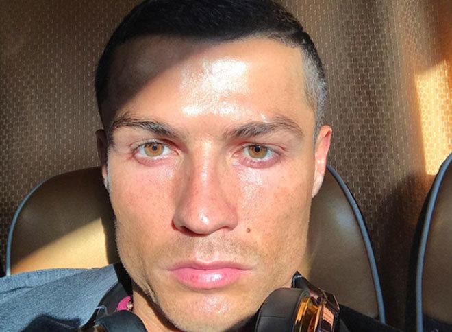 Cristiano Ronaldo, en una de las últimas imágenes que ha compartido en Instagram.