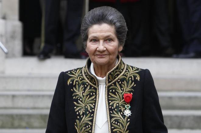 Simone Veil, en una fotografía de 2010. FRANCOIS GUILLOTAFP-PHOTO