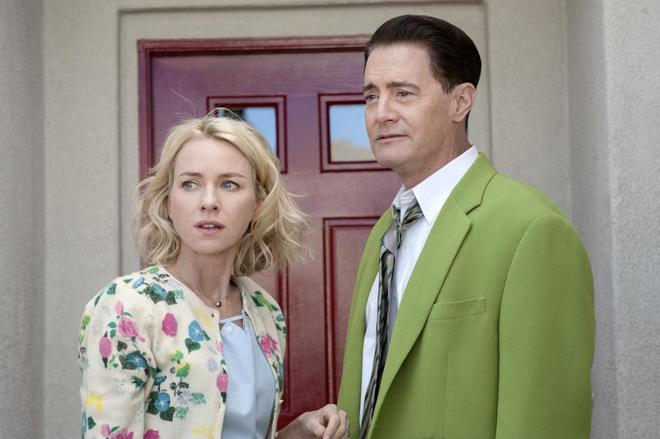 Escena de la tercera temporada de 'Twin Peaks'.