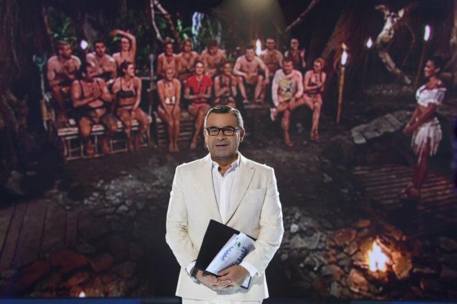 Jorge Javier Vázquez, en una gala de 'Supervivientes' (Telecinco).