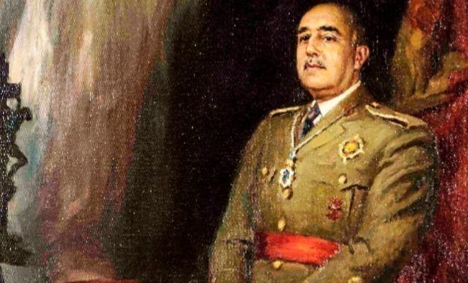Retrato de Franco de Jose Segrelles.