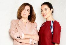 La profesora de psicología Purificación Sierra junto a la actriz Eva...