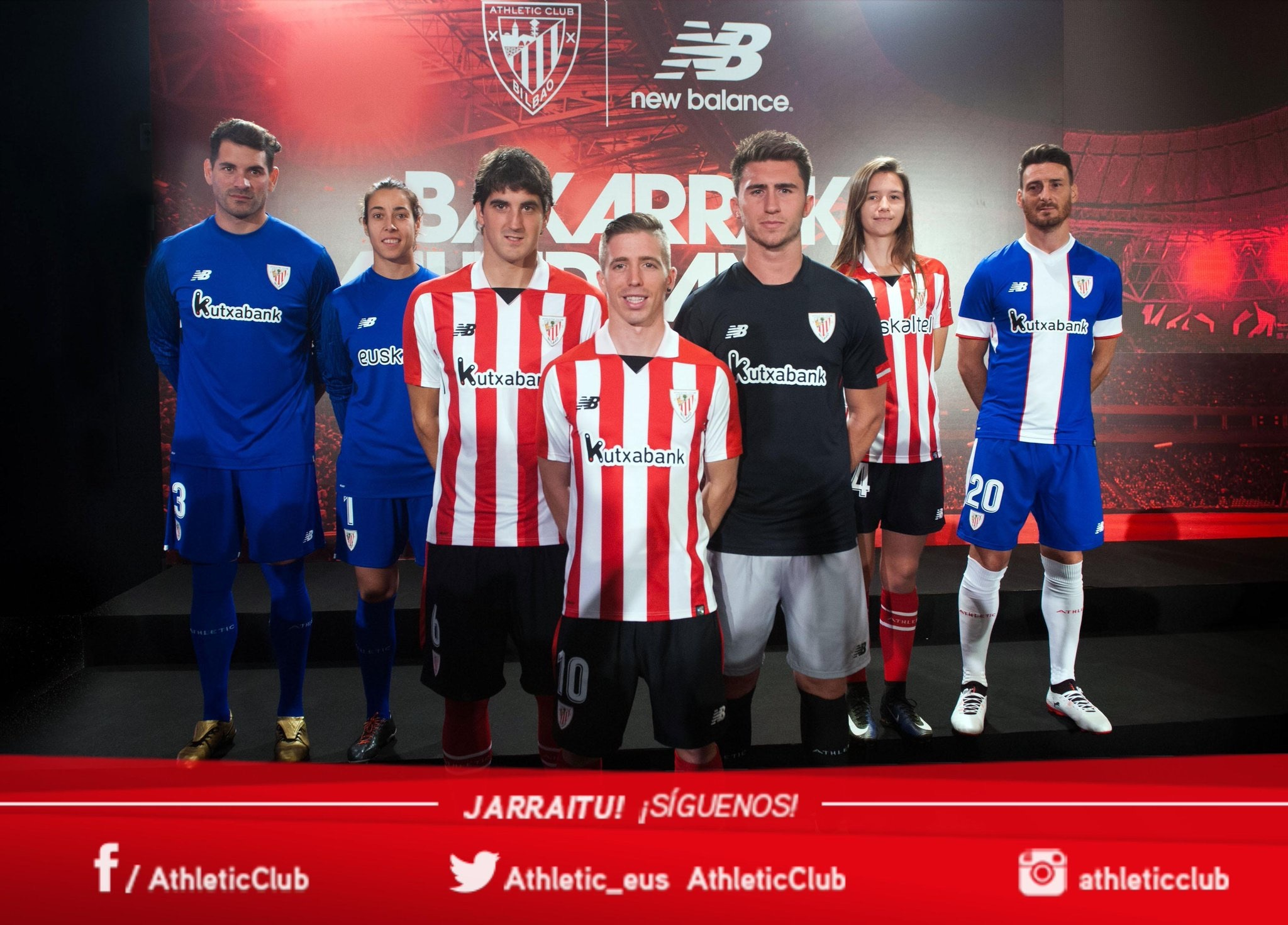 equipacion Athletic Club futbol
