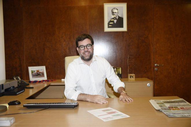 El alcalde de Palma, Antoni Noguera, con el retraso de Emili Darder al...