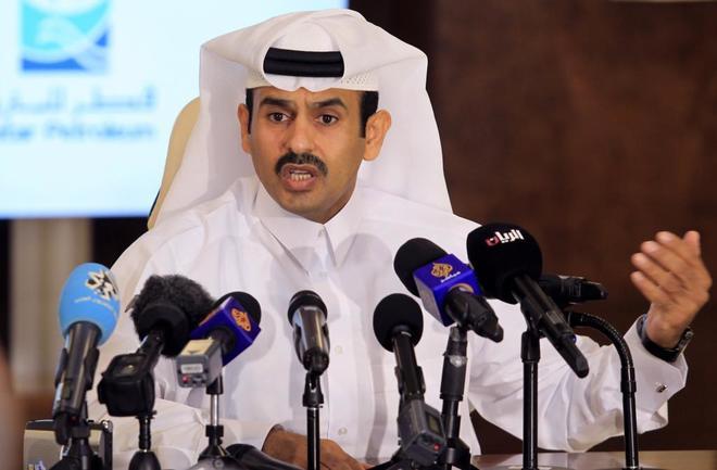 Saad al-Kaabi, ceo de Qatar Petroleum.