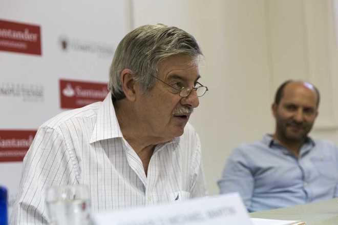 Gerald Martín, biógrafo del escritor colombiano