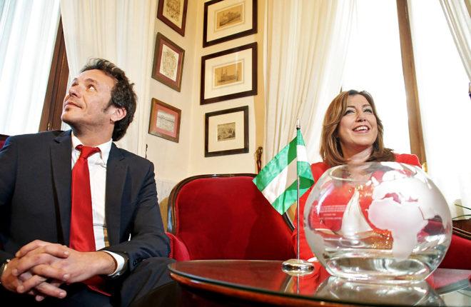 El alcalde de Cádiz, José María González 'Kichi', de Podemos y la...