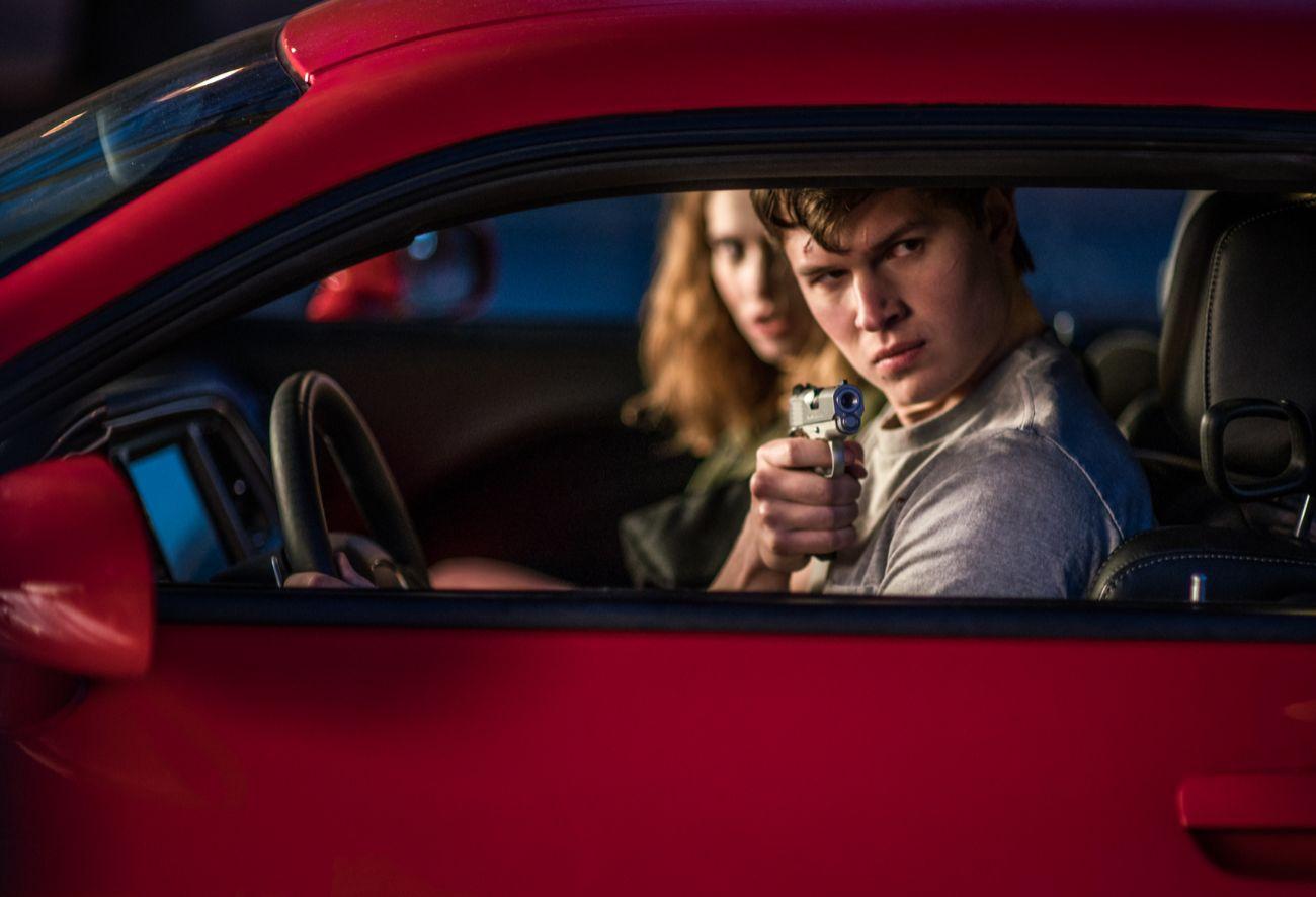Fotograma de la película 'Baby Driver'.