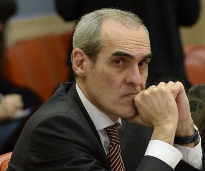 El nuevo jefe de Anticorrupción, Alejandro Luzón, en el Congreso de los Diputados.