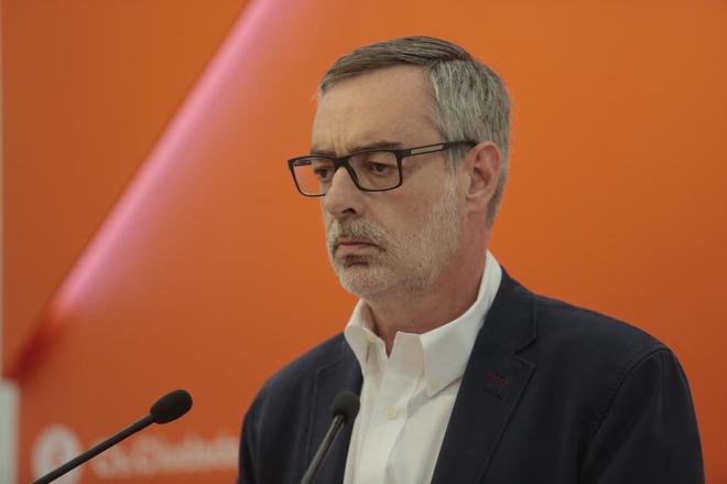 El secretario general de Ciudadanos, José Manuel Villegas, en rueda...