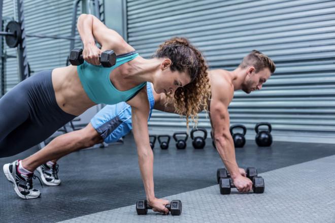 Los ejercicios por la quema de la grasa del pecho