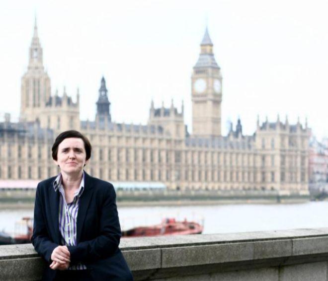 Anne Marie Waters, candidata a liderar el Partido de la Independencia del Reino Unido (Ukip)