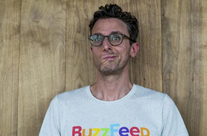 Jonah Peretti, CEO de 'Buzzfeed', en Madrid.
