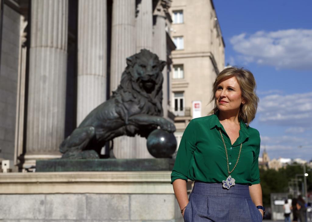 La periodista de Antena 3 María Rey.