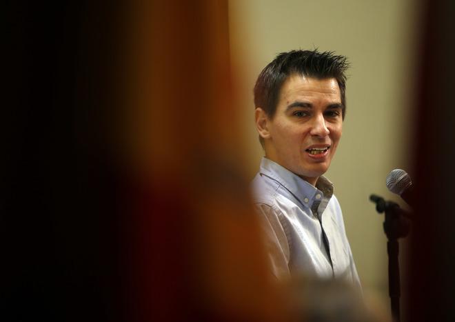 El delegado de Participación Ciudadana, Transparencia y Gobierno Abierto, Pablo Soto