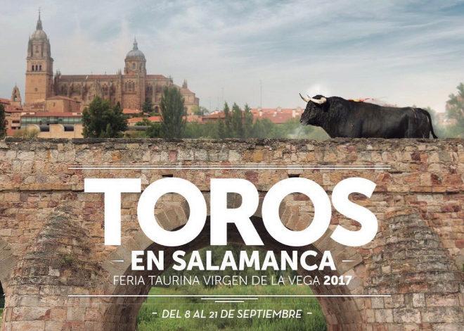 Cartel anunciador de la Feria de la Virgen de la vega de Salamanca