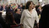 Soraya Sáenz de Santamaría, en un acto celebrado esta mañana en...