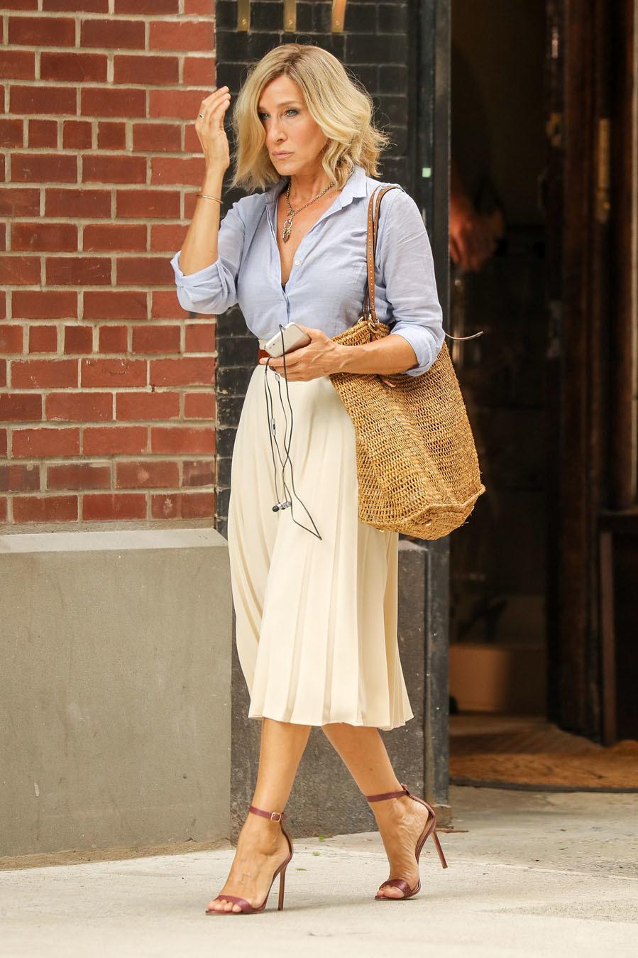 La actriz ha cortado su característica melena rubia apuntándose al...