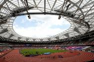 Vista del estadio de Londres.