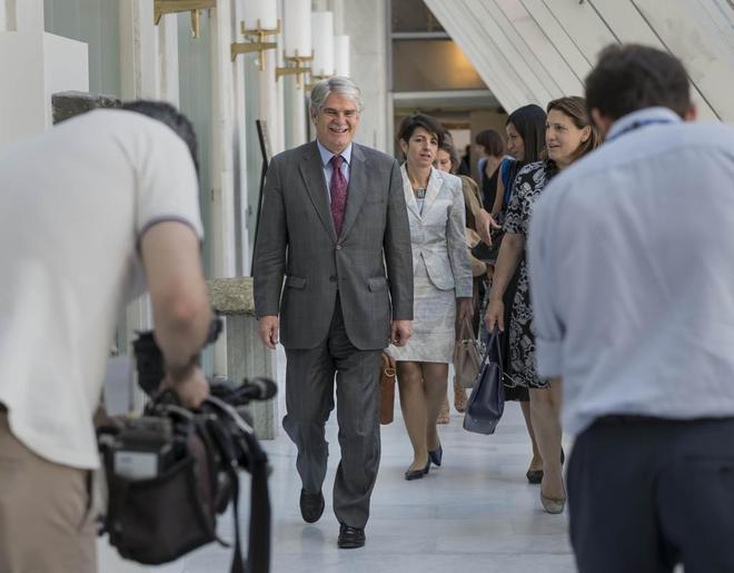 El ministro de Asuntos Exteriores, Alfonso Dastis, la semana pasada.