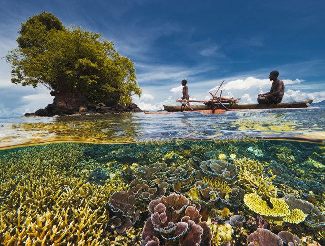 Las barreras coralinas son uno de los mayores atractivos del país.