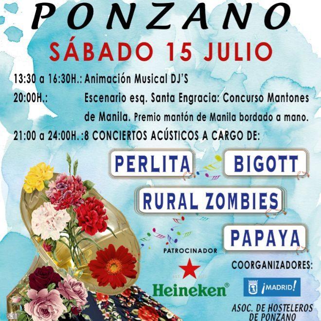 Cartel de las Fiestas del Carmen 2017.