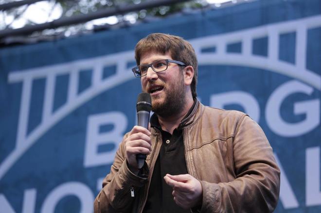 El eurodiputado y cofundador de Podemos, Miguel Urban.