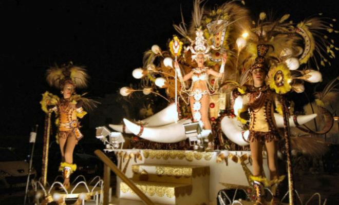 Uno de los desfiles que se organizan durante el Carnaval.