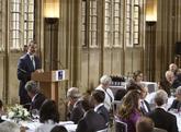 El Rey Felipe VI, en su intervención en la Universidad de Oxford.